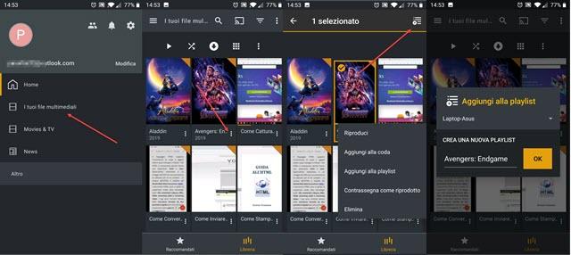 plex nei dispositivi mobili android con le librerie multimediali