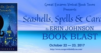 Erin Johnson's Seashells, Spells and Caramels Blog Tour with a Spotlight and Giveaway