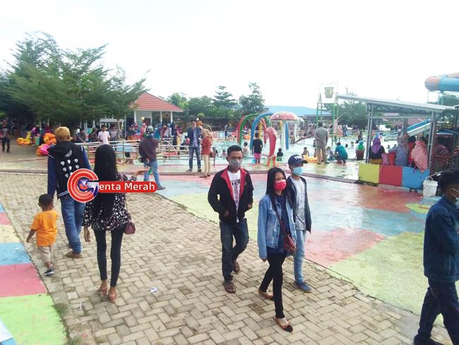 Taman Kehati Mesuji Dipadati Pengunjung, Berikan Berkah Tersendiri Bagi Pedagang