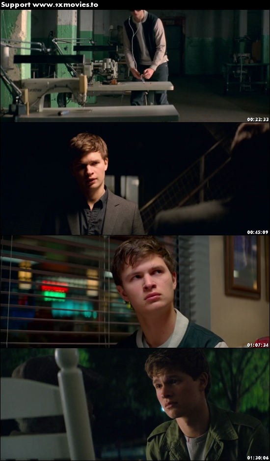 Baby Driver 2017 English 720p WEB-DL 900MB ESubs