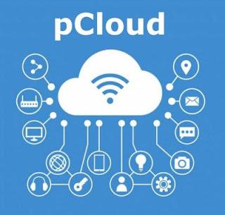 menyimpan file di  internet menggunakan pcloud
