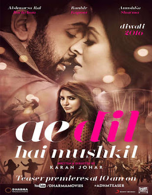 Watch Online Ae Dil Hai Mushkil 2016 Full Movie Download HD Small Size 720P 700MB HEVC DVDRip Via Resumable One Click Single Direct Links High Speed At WorldFree4u.Com