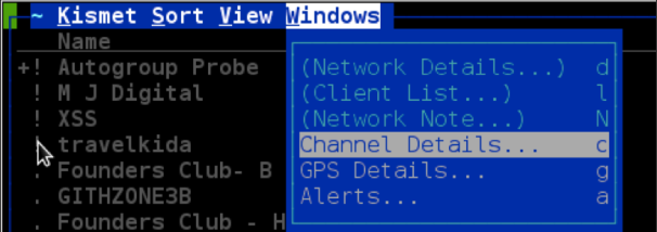 Kismet -- WiFi Sniffer | Kali Linux - Kali Linux Tutorials
