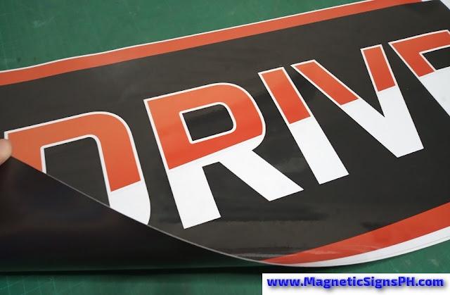 Drive Vehicle Magnetic Signage