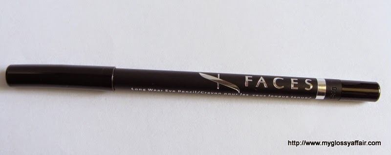 Faces Long Wear Eye Pencil in Solid Black Review