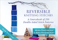 Reversible Knitting Stitches by Moira Ravenscroft & Anna Ravenscroft, Wyndlestraw Designs