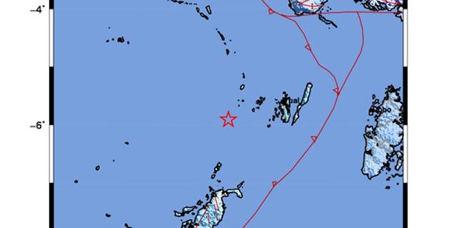 Gempa M 5,5, Guncang Maluku