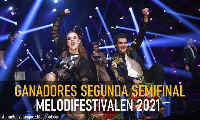 DOTTER Y ANTON EWALD GANAN LA SEGUNDA SEMIFINAL DEL MELODIFESTIVALEN 2021