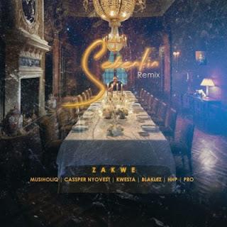Zakwe Feat. Cassper Nyovest, Kwesta, Blaklez, HHP, Musiholiq & Pro – Sebentin (Remix)