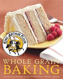 peach coffeecake from King Arthur Flour Whole Grain Baking