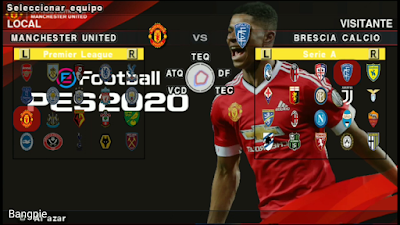 eFootball PES 2020 PPSPP Android Manchester United Edition