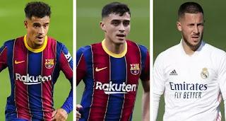 Pedri now valued same as Coutinho and Hazard by Transfermarkt