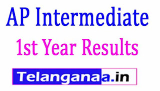 AP Inter 1st Year Results 2017