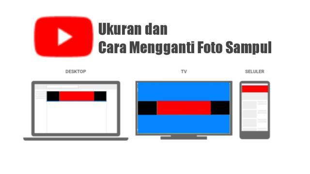 cara mengganti foto sampul channel youtube