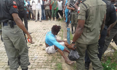 Another ritualists den uncovered in Lagos