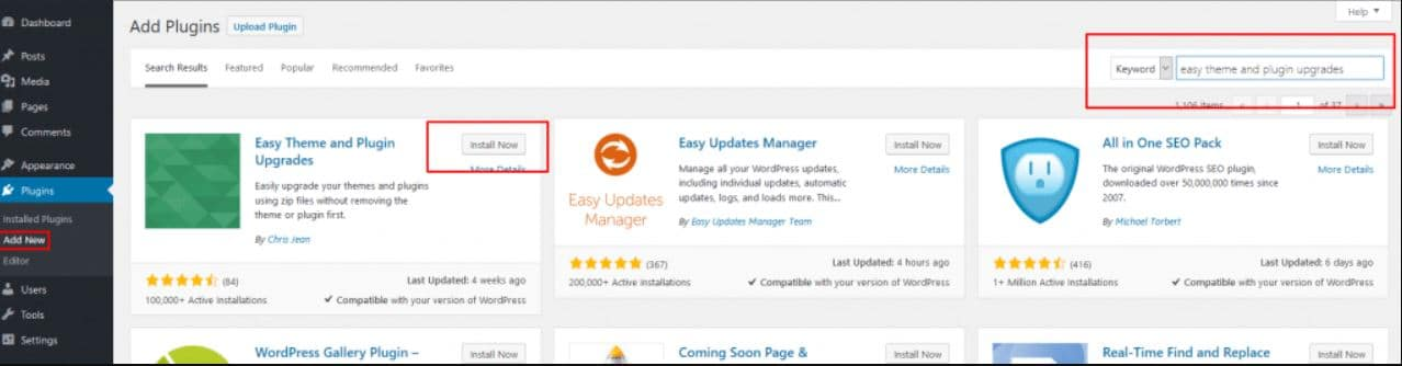 How To Update WP Theme & Plugin?