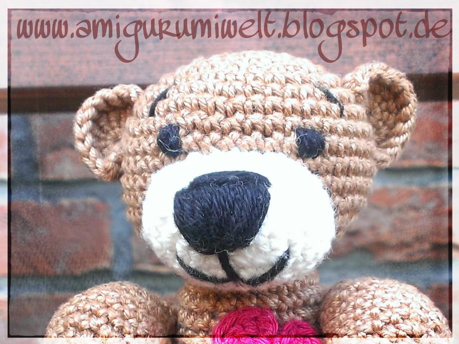 Wundervolle Amigurumi Welt Teddybär Tim