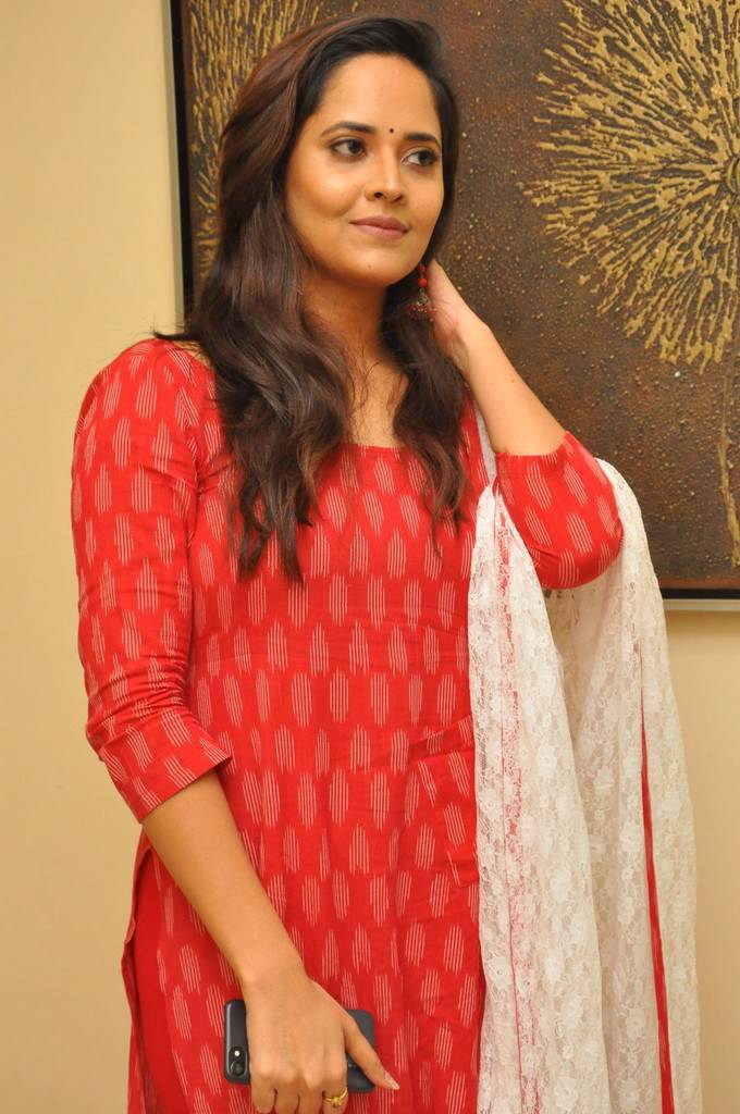 Anasuya At Kalamandir Foundation 7th Anniversary Celebrations Stills