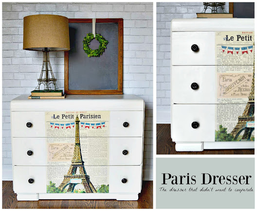 The Paris Dresser That Didn't Want To Cooperate