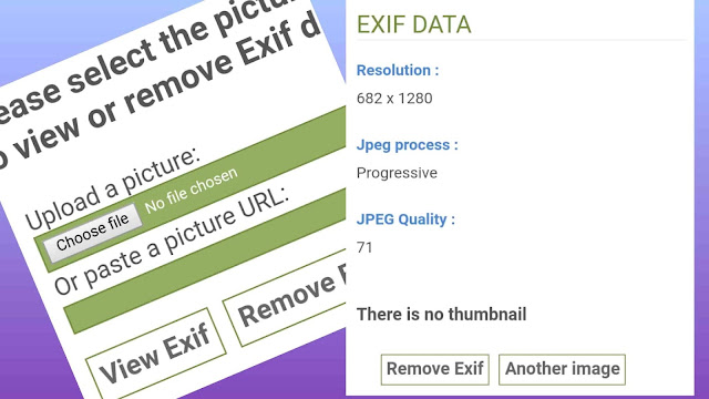 HOW to meta data remove from image