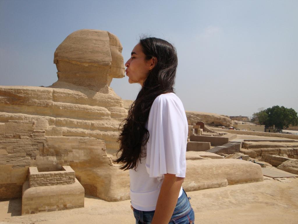 Esfinge de Gizé e as Pirâmides do Egito