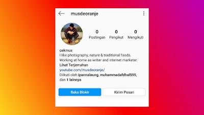 Ini Yang Terjadi Jika Kita Memblokir Orang Di Instagram