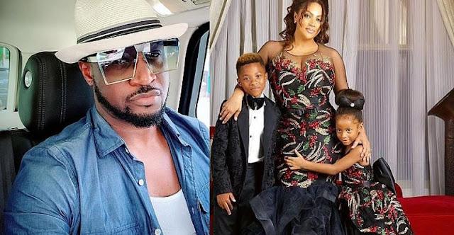 Peter Okoye and Family