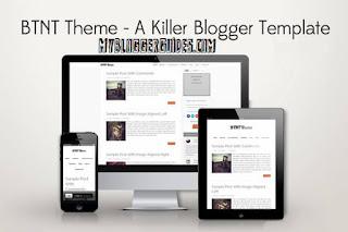 BTNT Blogger Template, Best SEO Optimized Blogger Template, AdSense Ready Blogger Template