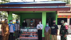 Kunjungan team WHO ke posko PPKM Skala Mikro desa citepus Kecamatan Palabuhanratu