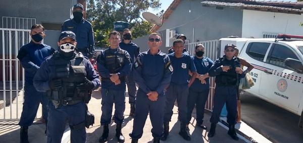 Guarda Civil Municipal realiza blitz educativa de trânsito na cidade de Buriti-MA