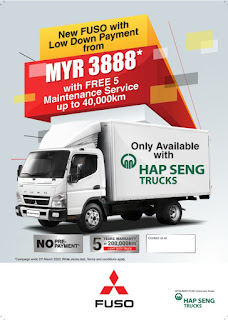 New Fuso with low down payment