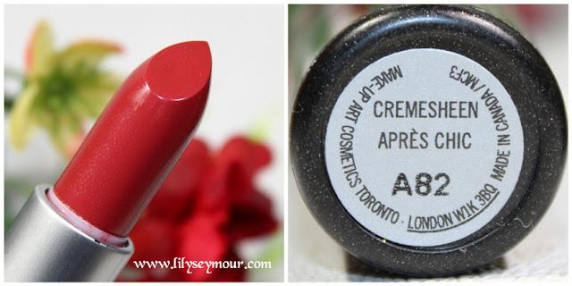 Apres Chic Lipstick by Mac Cosmetics