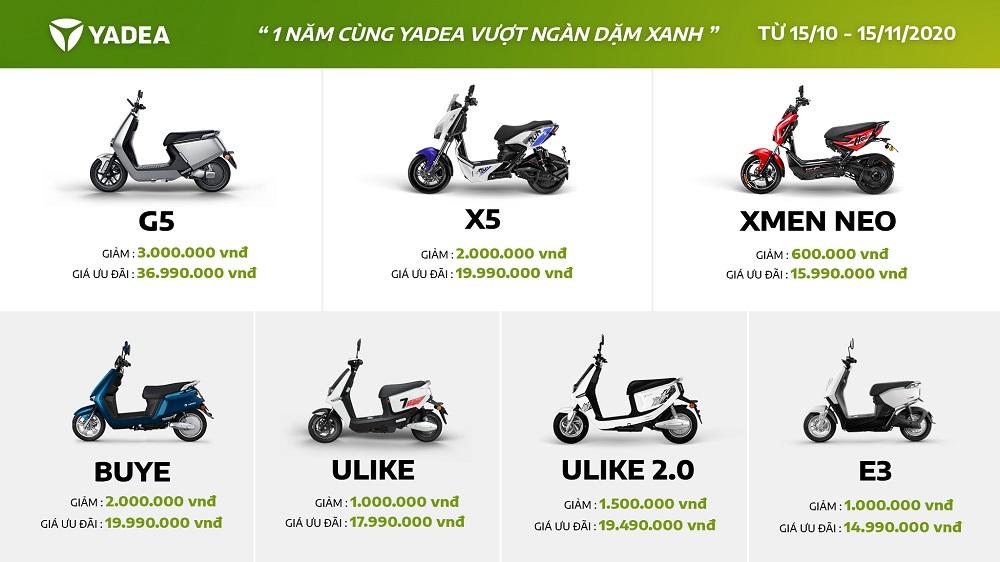 Xe máy điện Yadea