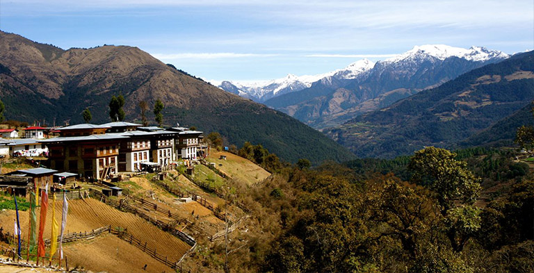 Bhutan Phobjikha Valley Natural Attractions