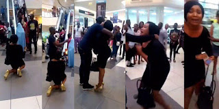 Man who rejected girlfriend's proposal at Ikeja City Mall was already married