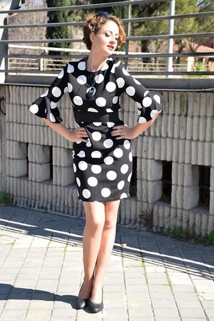 Outfit-Vestido-lunares-volantes-flamenca-7