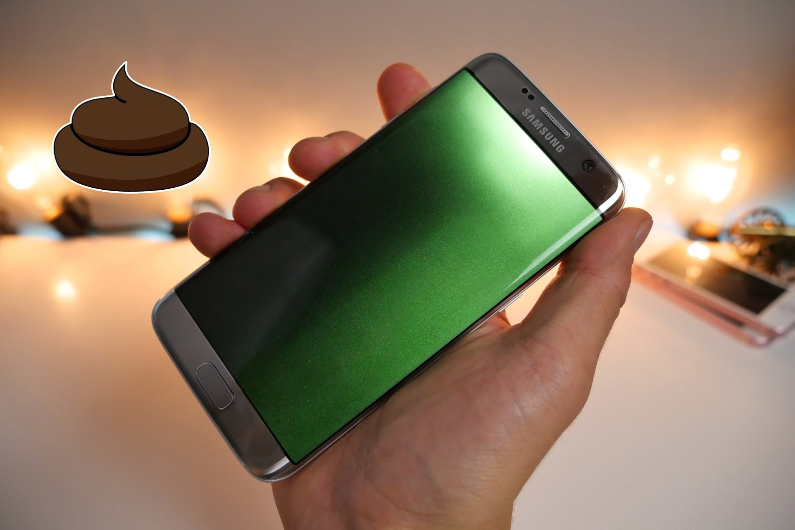 Samsung galaxy s7 green screen fix