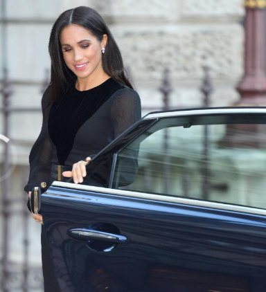 Video: Meghan Markle caused a stir at solo engagement by doing something Kate Middleton and The Queen never do