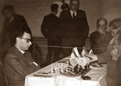 Partida Lladó - Giustolici en el Zonal de Dublín de 1957