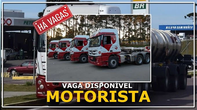 Transportadora Videira abre vagas para Motorista Carreteiro