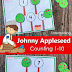 Johnny Appleseed Counting Activity for Preschool