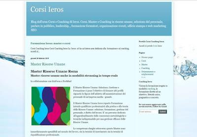 creazione siti blog