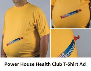 creative t-shirt advertising
