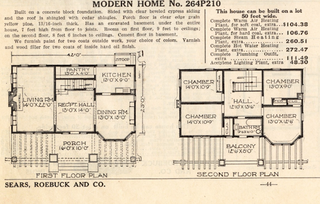 sears modern homes 1914 milton floorplan