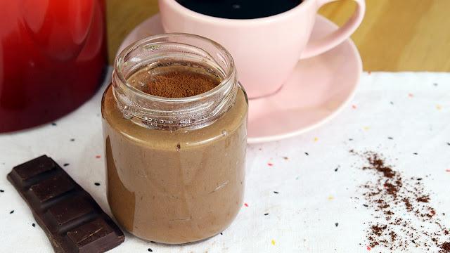 Novidade! Pudim de café com banana sem açúcar fácil! Surpreendente, aromático e vegano