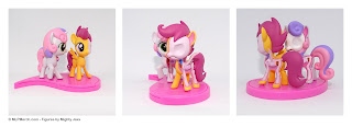 My Little Pony Hidden Dissectibles Series 2 Sweetie Belle and Scootaloo