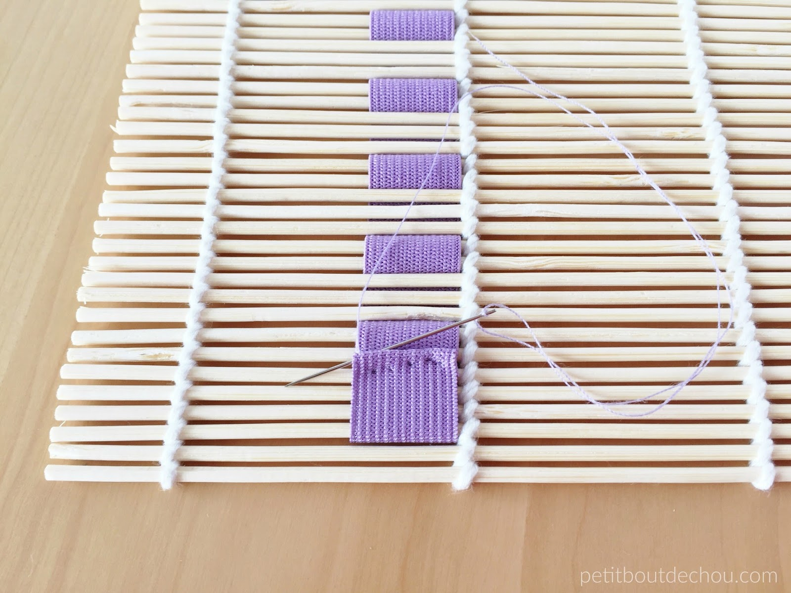 Diy 10 Minute Inexpensive Crochet Hook Holder With Bamboo Sushi