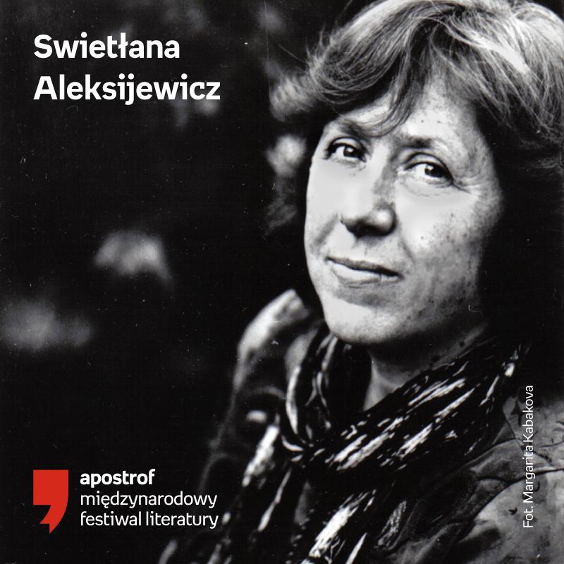 Apostrof. Międzynarodowy Festiwal Literatury 2019. Laureatka Nobla w Polsce!