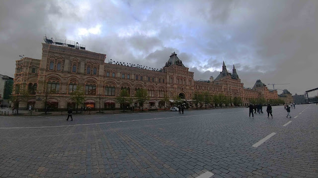 GUM from the Red Square, Moscow