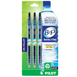 pilot bottle 2 pens plastic pen recycled amazingness